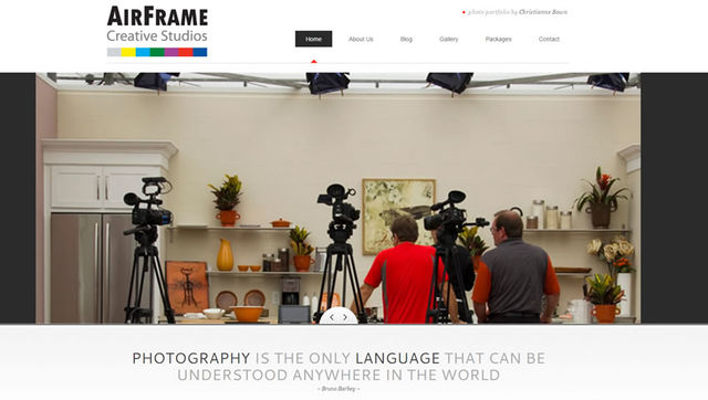 Launched AirFrame Creative Studio