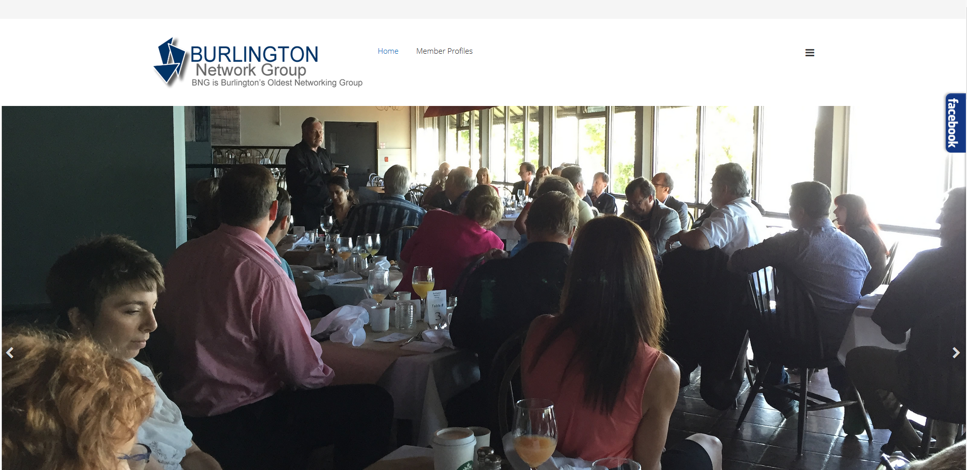 Autumnfire Launches new website for The Burlington Network Group
